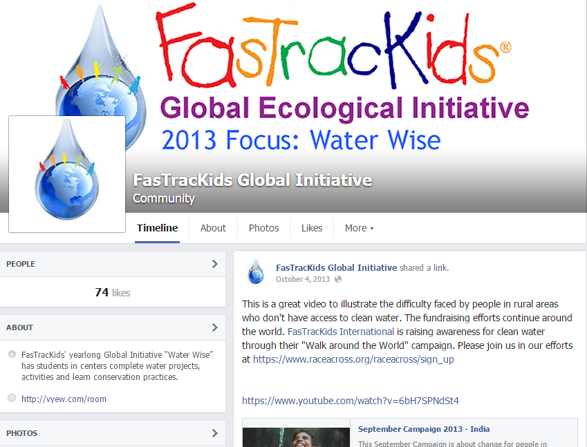 Global Initiative Facebook Screen Shot
